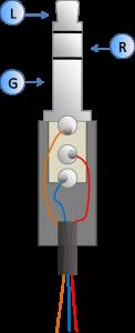 3 pólusú jack csatlakozó bekötése