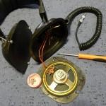 Audioton DH-203 sztereó fejhallgató szétszedése