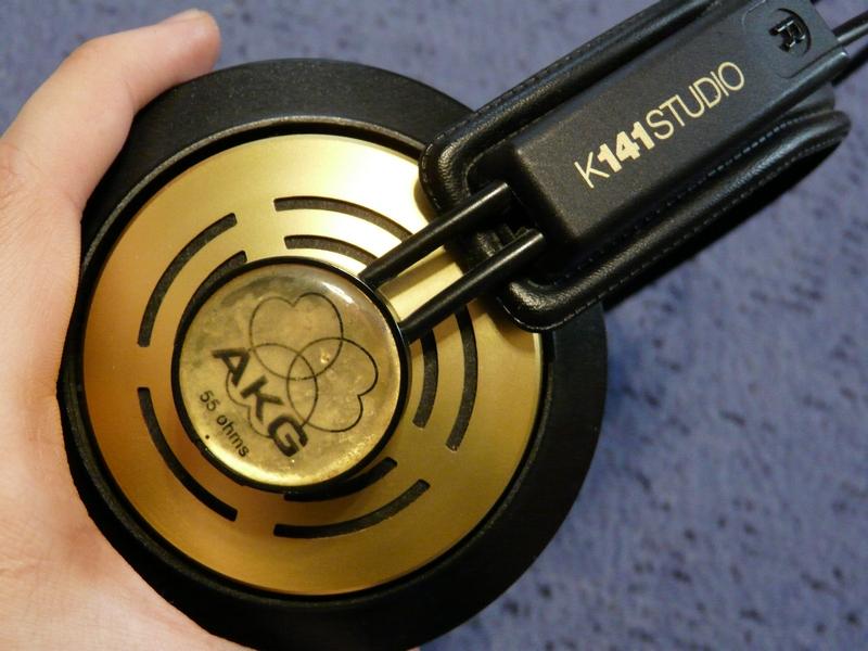 AKG K141 Studio fejhallgató javítása - mini XLR aljzat csere ... 816bb4db22