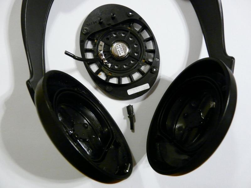 Hibás Sennheiser HD 202 fejhallgató szétszedve 88a075b06a