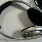 Sennheiser HD 457 fejhallgató felülről