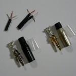 Szerelhető jack dugók Sony DR-GA100 headset javításához