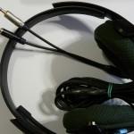 Teljes kábelcserével megjavítiott Sony DR-GA100 headset