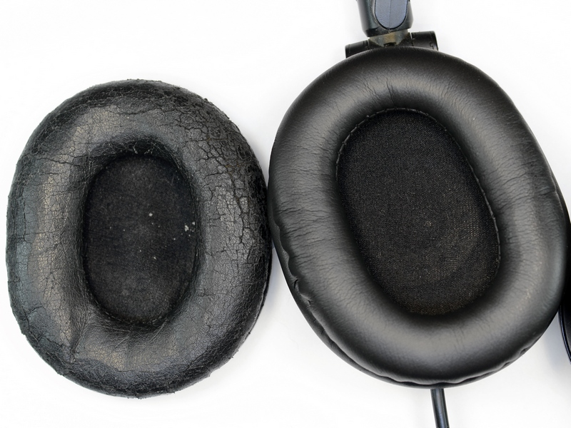 Audio-Technica ATH-M50 fülpárna csere