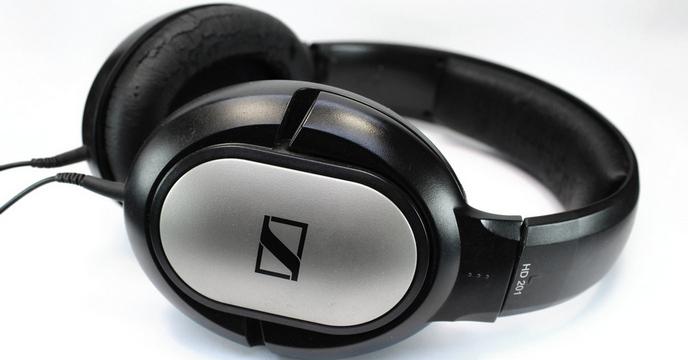 Sennheiser HD 201 fejhallgató javítás