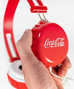 Coca Cola fejhallgató javítása