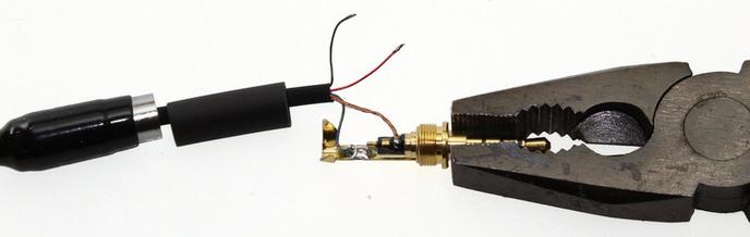 JBL Tune T500 javítás, árnyékolás bekötése