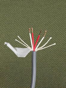 KáCsa KCE-HP fejhallgató kábel