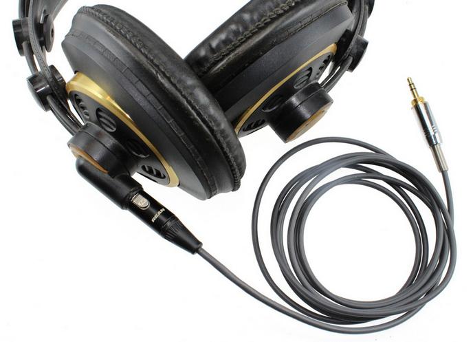 AKG K240 Studio fejhallgató kábel készítés