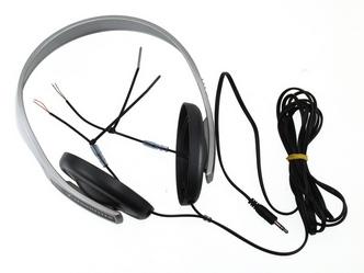 Sennheiser HD 203 fejhallgató felújítás 5.