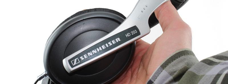 Sennheiser HD 203 fejhallgató