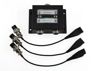QD splitter elosztó doboz adapterekkel