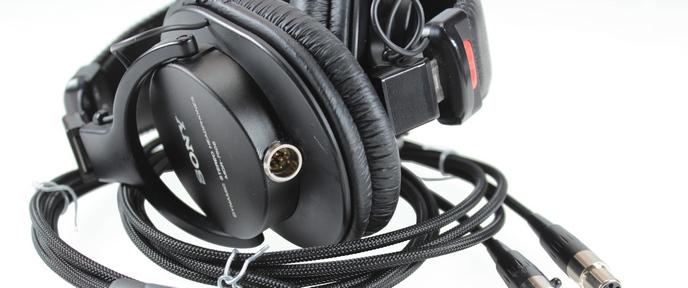 Sony MDR-7506 fejhallgató átalakítása