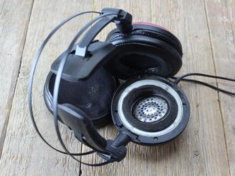 Audio-Technica ATH-A1000Z ART fejhallgató fülpárna leszedése