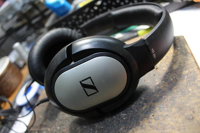 Sennheiser hD 201 fejhallgató javítás 1