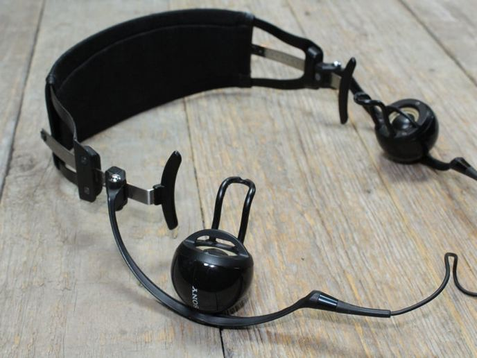 Sony PFR-V1 Personal Field Speaker fejhallgató javítás