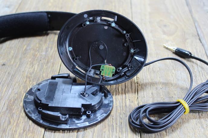 Sennheiser HD 449 fejhallgató javítása